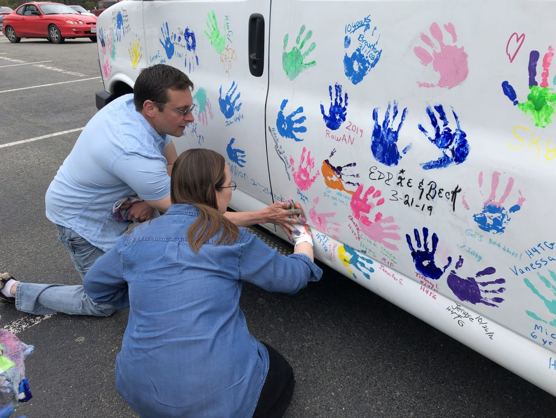 1 Million Hands Project visits Petersburg