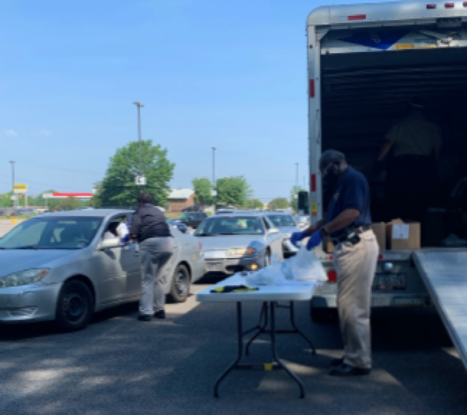 Petersburg residents get free Personal Protective Equipment