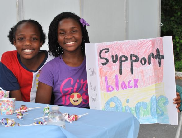 Camp Diva Girls For A Change host annual Market Day