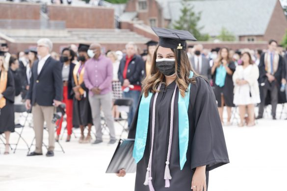 U of R Graduation 2021 was an in-person event